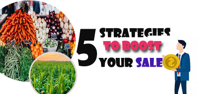 Five(5) strategies to boost your sale